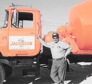 Jacobson Concrete mixer from the 1970s used in Garvin, McClain, Stephens, Grady, Murray, Pontotoc, Pottawatomie, Cleveland, Pauls Valley, Purcell, Elmore City, Wynnewood, Wayne, Paoli, Foster, Byars, Stratford, Davis, Sulphur, Ratliff City, Tatums, Lexington, Goldsby, Washington, Dibble, Bradley, Blanchard, South Central Oklahoma